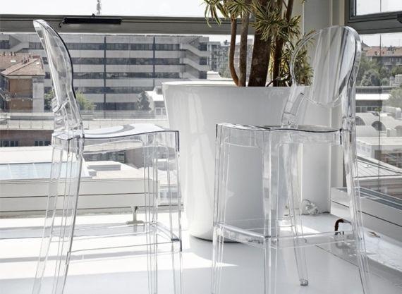 Tabouret De Bar Design Plexi Transparent Sledge Plus Tabouret De Bar Design Mobilier Design Mobilier De Salon