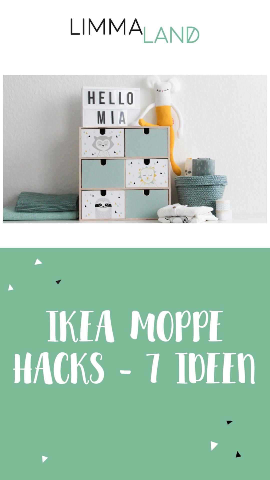 Photo of 7 Ideen die IKEA MOPPE Minikommode zu verschönern