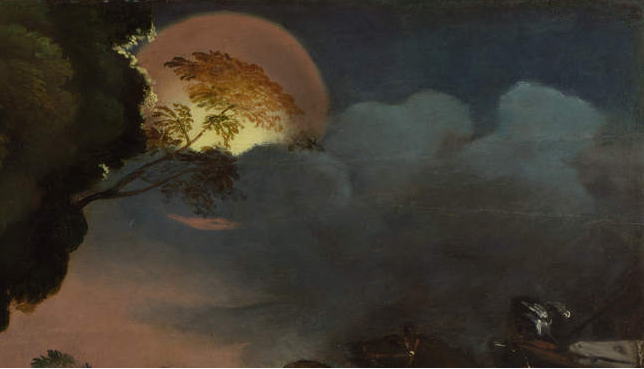 Image result for the moon in renaissance painting