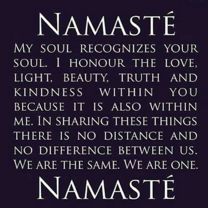 Ever wondered what Namaste means?