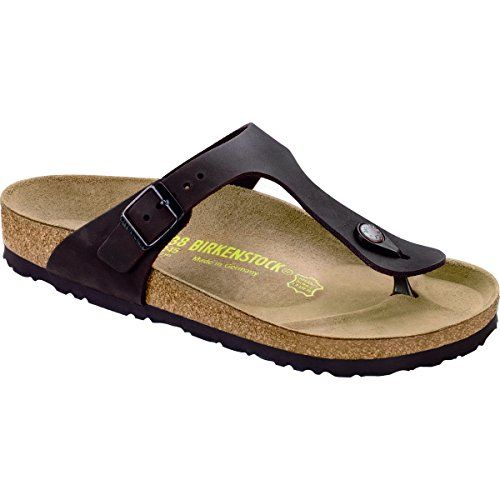 Zapatos negros formales Birkenstock Gizeh para mujer
