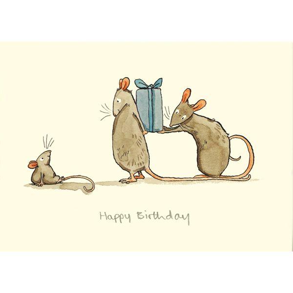Баров снаружи, с днем рождения открытки мыши
