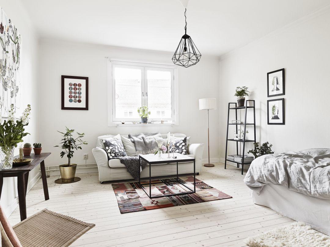 studio apartment in g teborg house stue lejlighed ideer huse rh pinterest dk