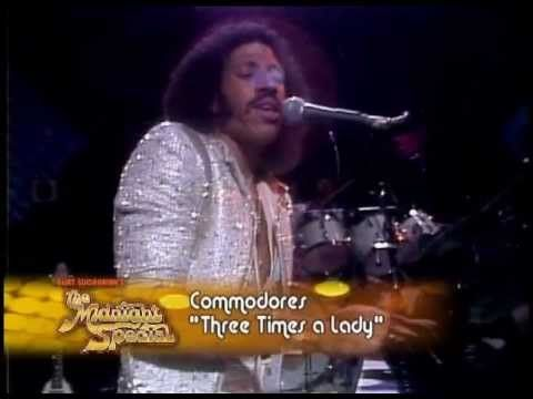 The Commodores Three Times A Lady Live Midnight Special 1979 Long Commodores Special Lady