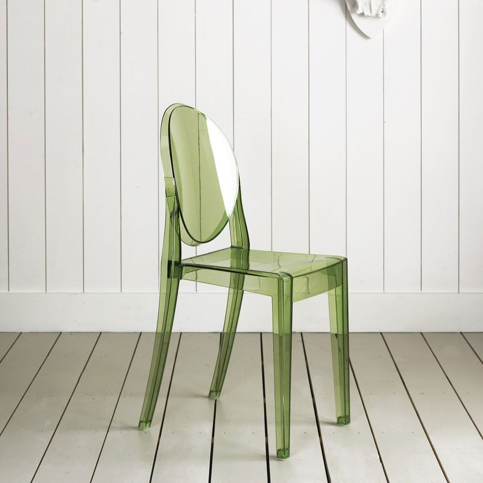 Attirant Green | Victoria Ghost Chair By Philippe Starck Green Version