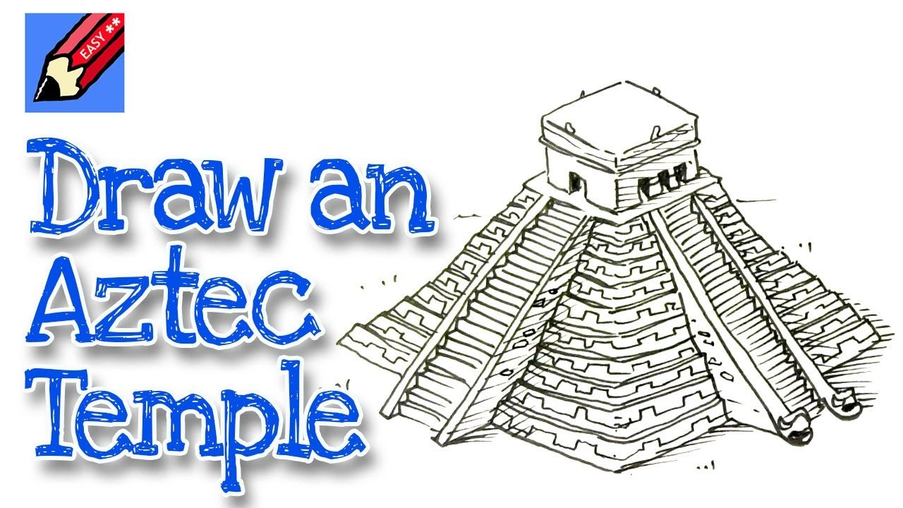 It's just an image of Stupendous Temple Drawing Ideas