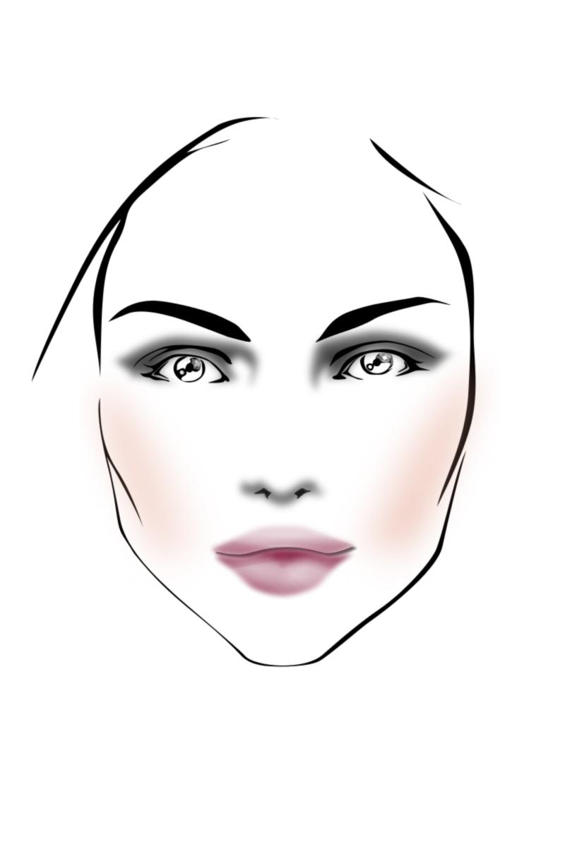 Fashion Face Fashion Face Face Fashion Illustration