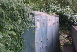 Old Lockers 5 Vintage Metal School Lockers Oklahoma City