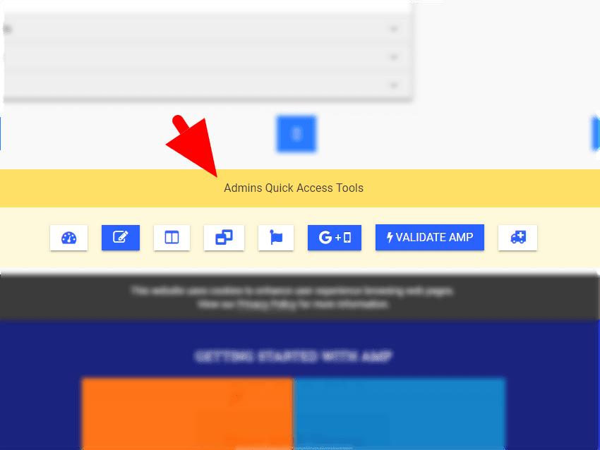 Blogr-AMP (V2) Blogger Theme Admins Quick Access Tools & Help ...