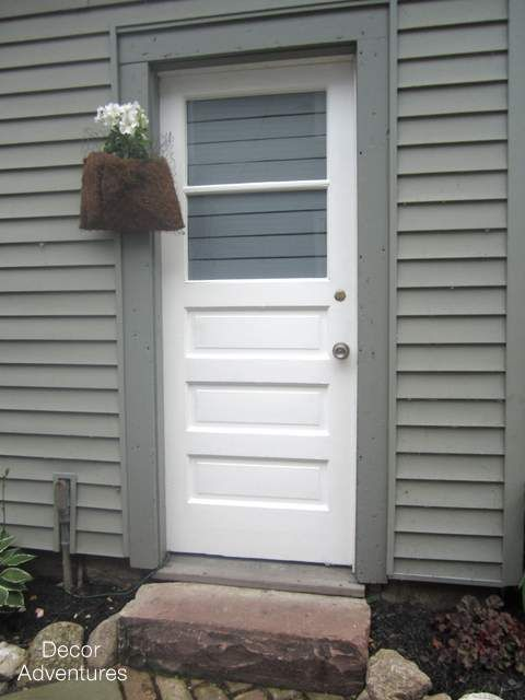 Door Makeover with Front Door Paint | Color: Hopeful | Modern Masters Project by Decor Adventures