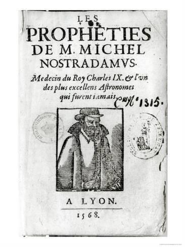 Frontispiece To Les Propheties De M Michel De Nostradamus Giclee Print Art Com Giclee Print High Quality Art Prints Bw Photo