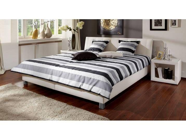 Gepolstertes Bett Remigio – 180×200 cm – braun – ohne Matratze – Polst