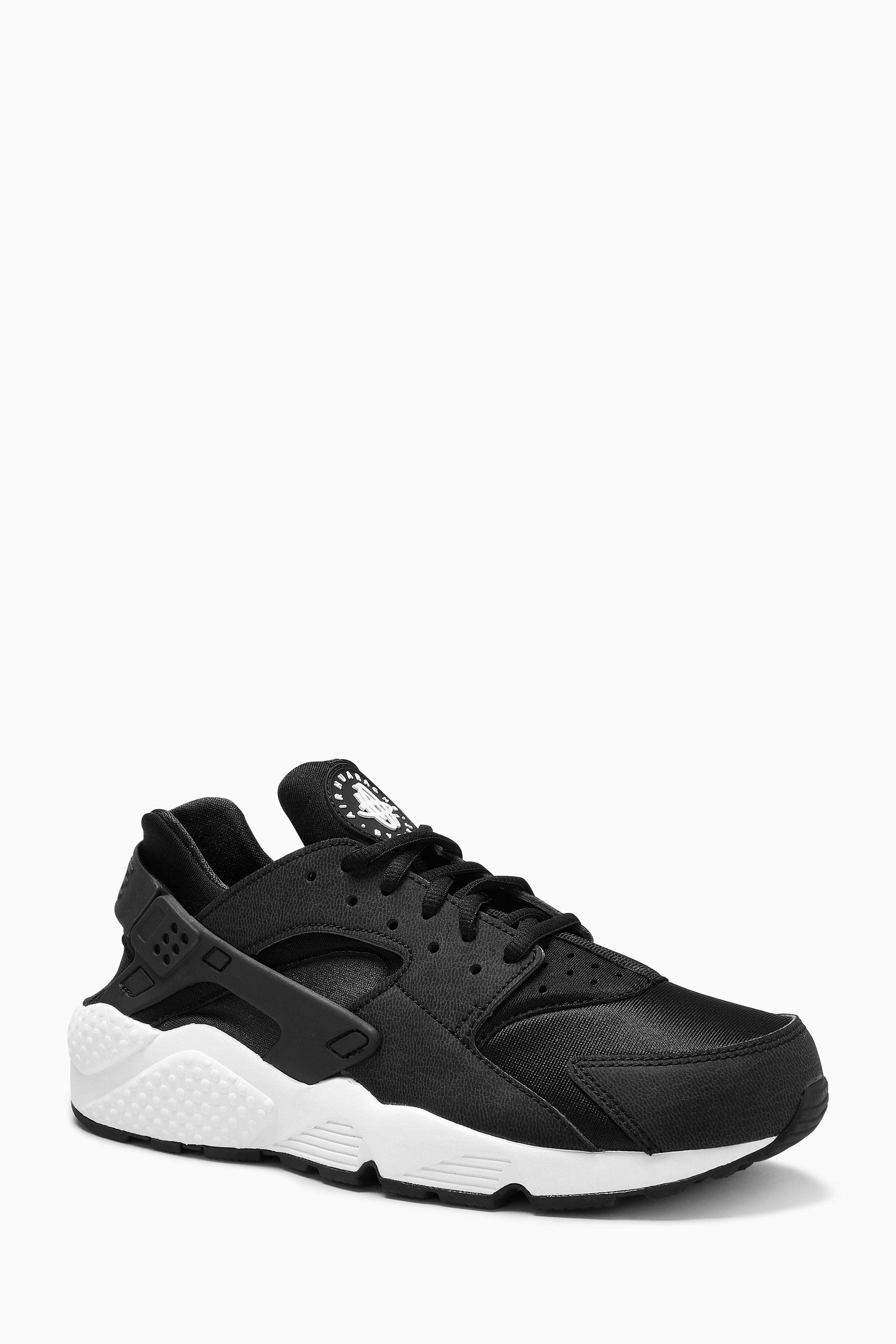 Womens Nike Huarache Run - Black