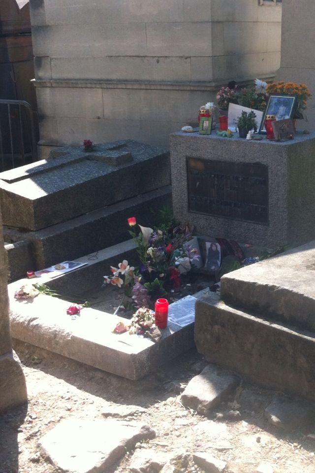 Visit Pere LaChaise Cemetery to see Jim Morrison's gravesite