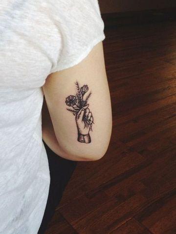 Precisos Y Hermosos Tatuajes Detras Del Brazo Tatuajes Para