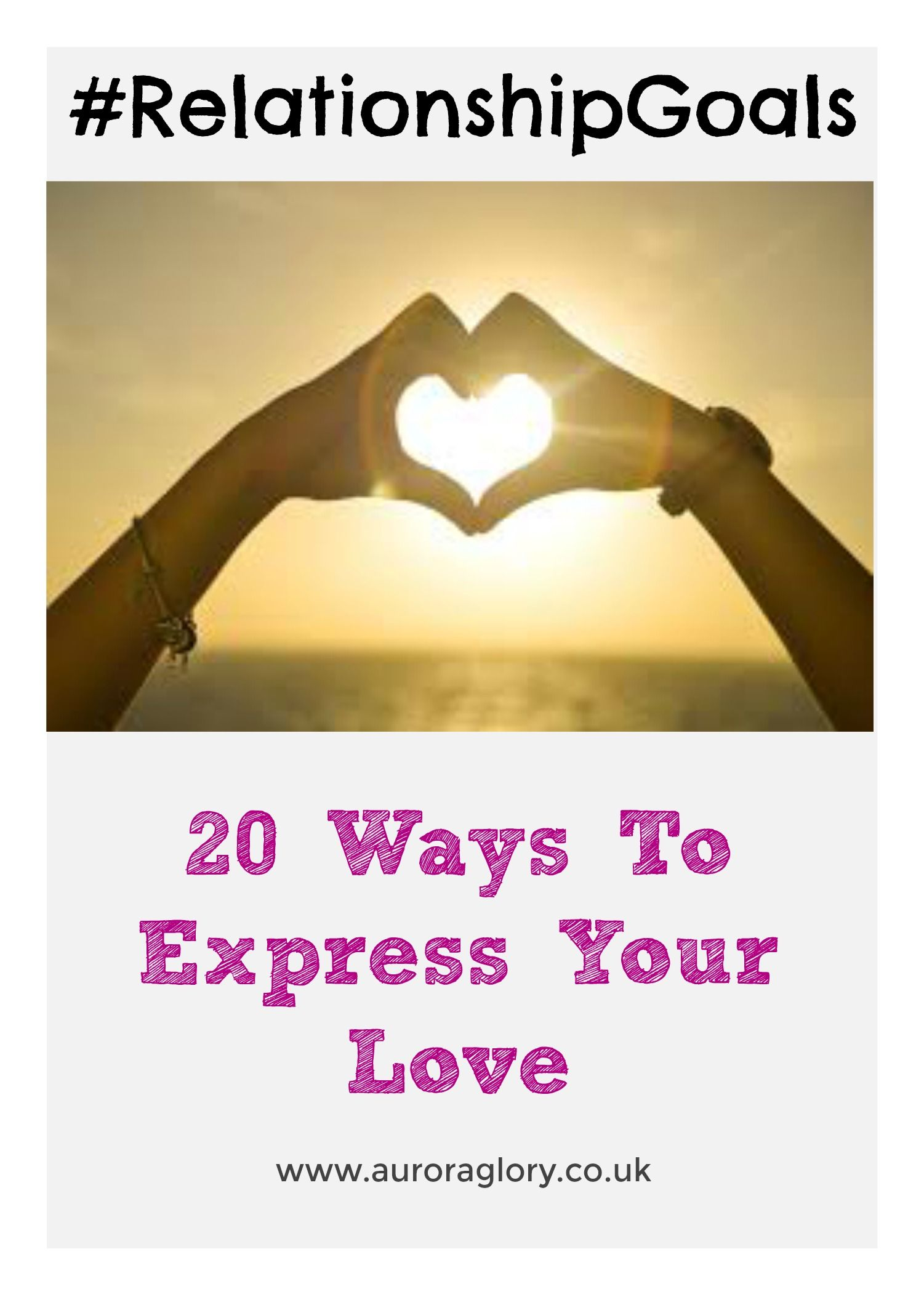 Relationship Advice - 20 Ways To Make Sure Your Partner Knows How Much You Love Them. Relationship Goals