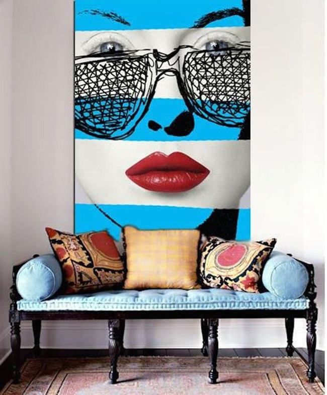 Fabulous Collection Of Pop Art Interior That Will Catch Your Eye Pop Art Decor Interior Design Art Interior Art