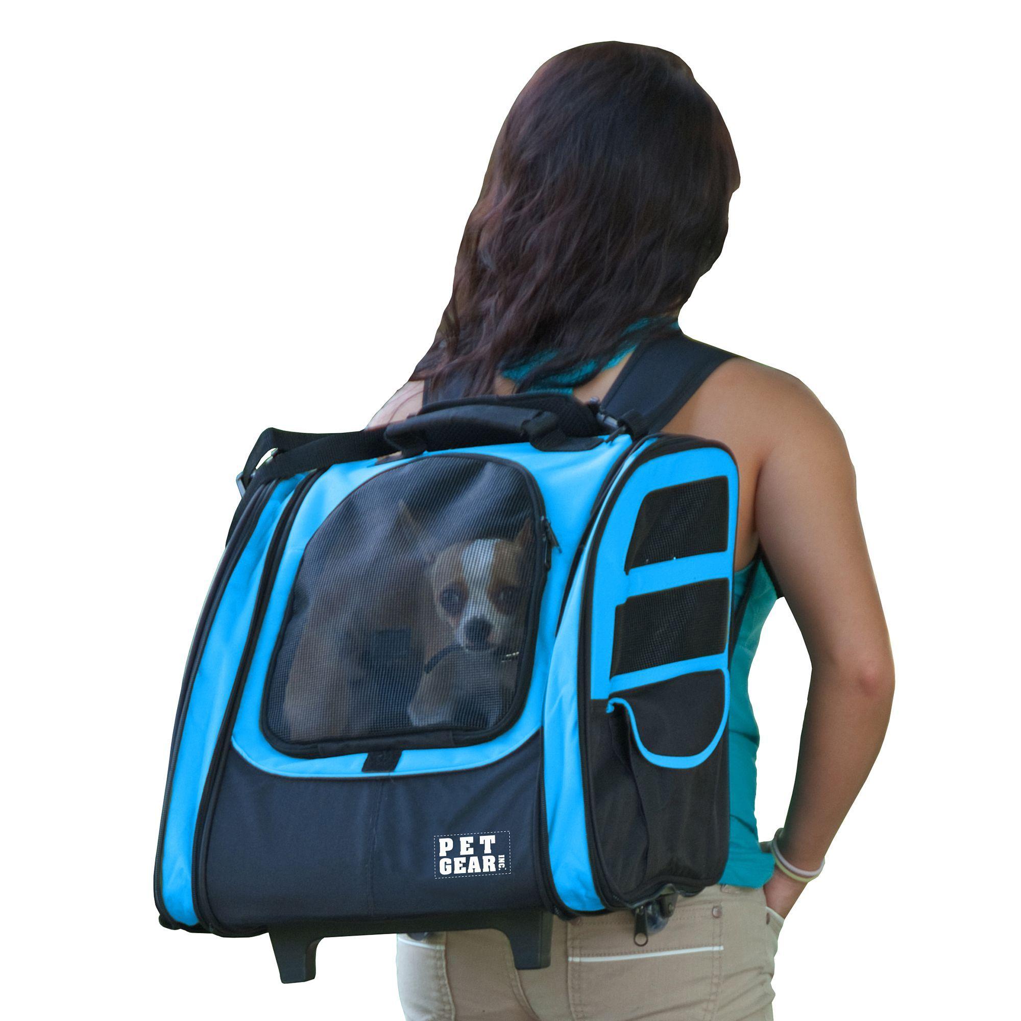 4dd298acf1 Pet Gear I-GO-2 Traveler Pet Backpack Carrier