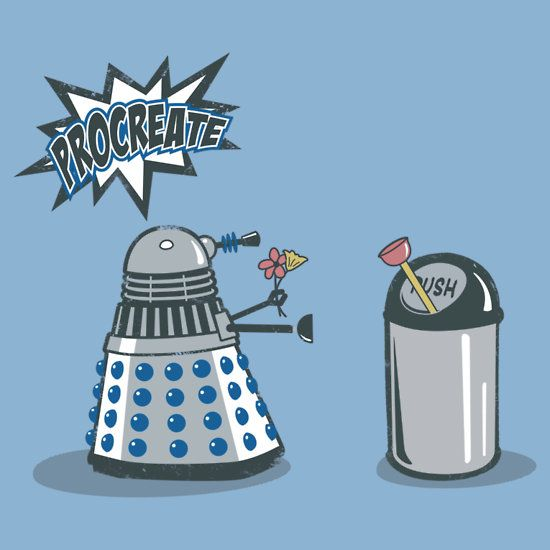 Dalek Crush....Ha! Definitely giggled out loud.