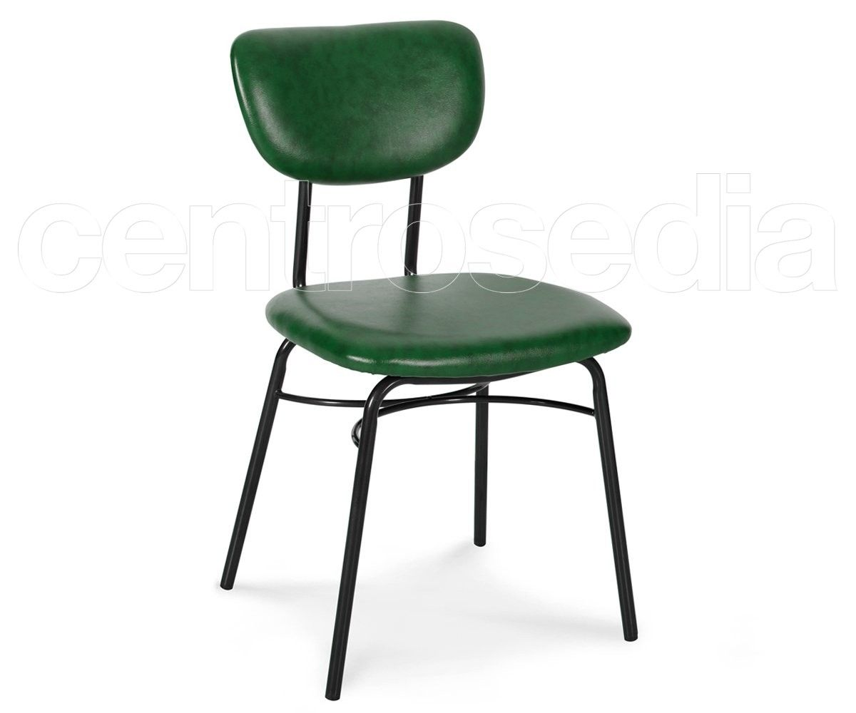 Sedie O G ~ Liz sedia metallo imbottito sedie vintage e industriali sedie