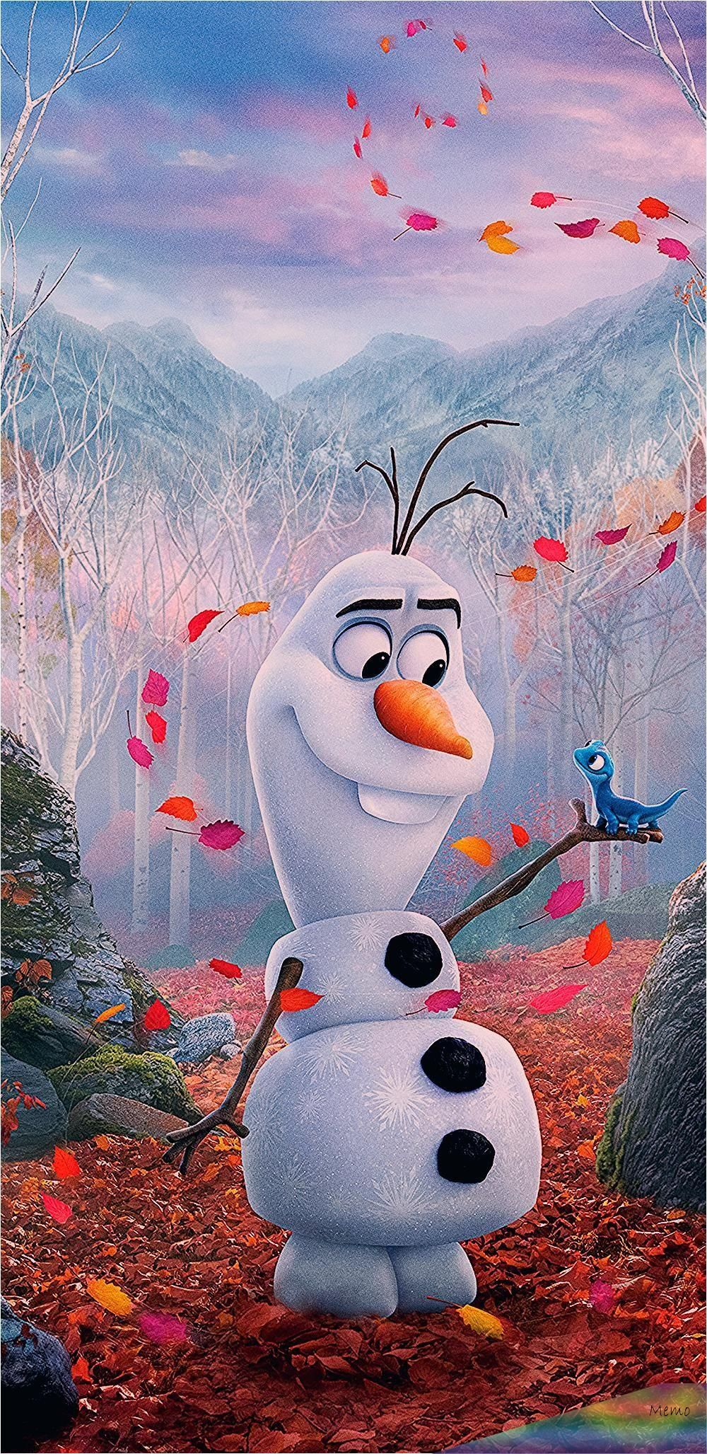 Jan 18, 2020 - Snowman Olaf from frozen 2 movie 14402960 wallpaper