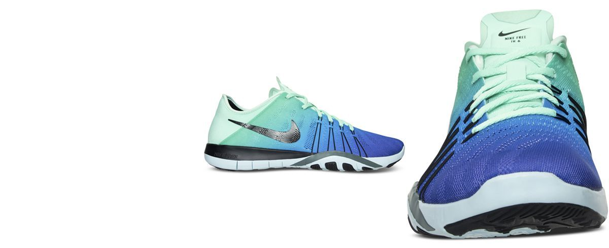6c1024af9b51 Nike Women s Free TR 6 Spectrum Training Sneakers from Finish Line - Finish  Line Athletic Shoes - Shoes - Macy s