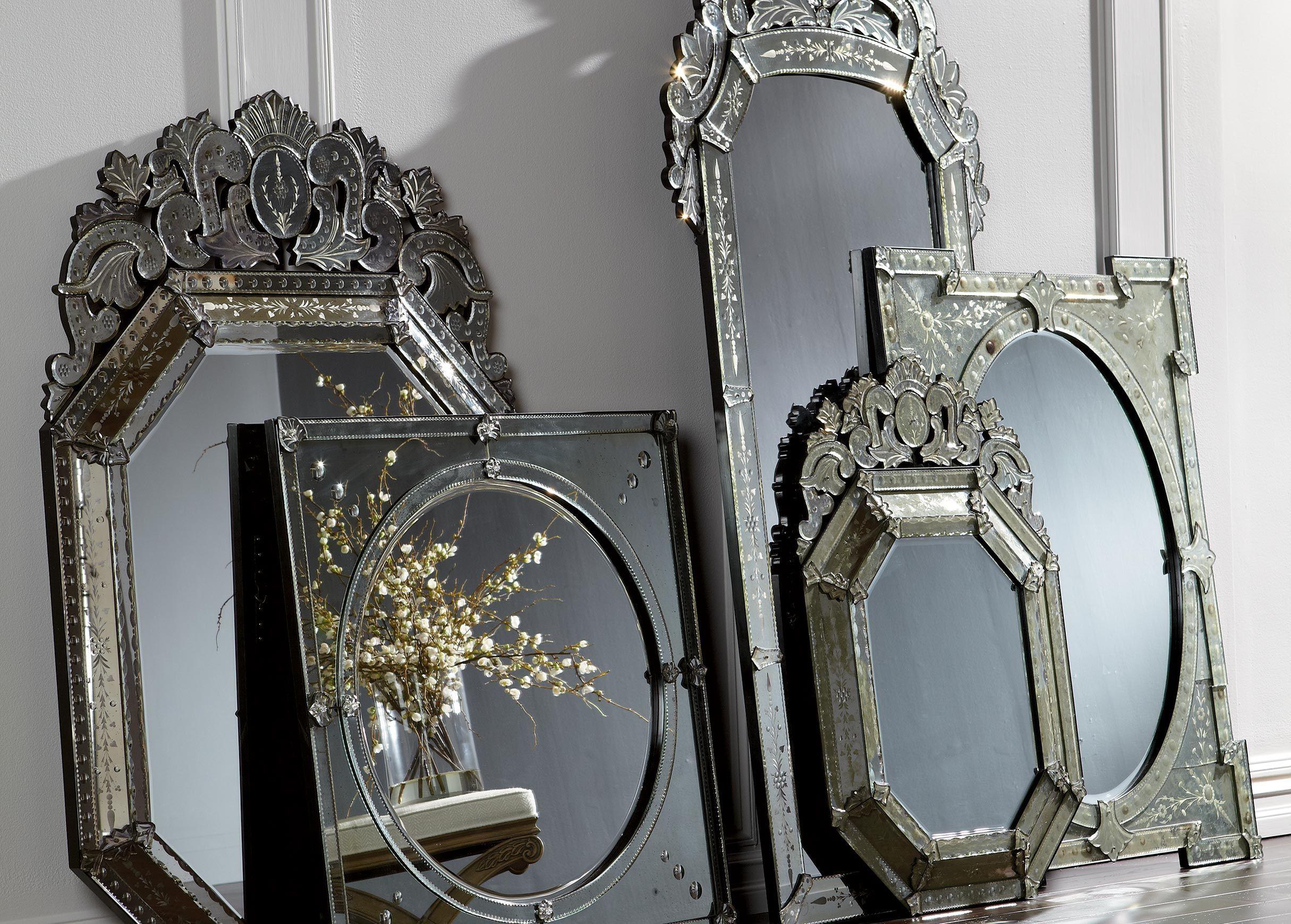 Large Ornate Venetian Mirror Mirrors Venetian Mirrors Mirror Mirror Decor