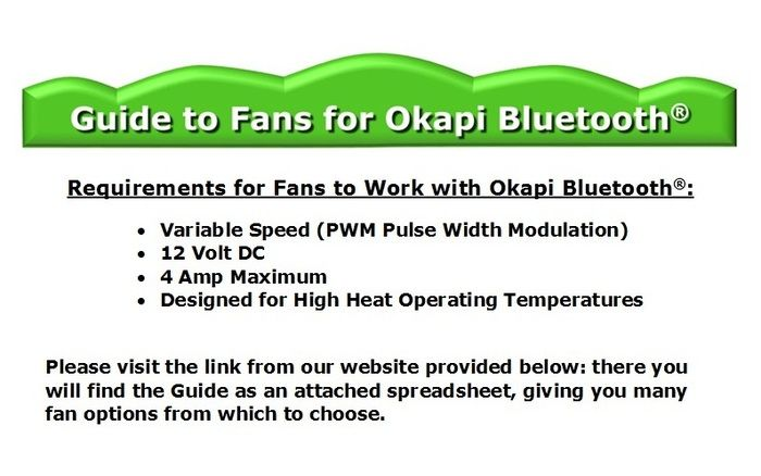 Love Okapi Bluetooth & want a stronger fan for your Super Solar Heater? There's a pledge for that & here's the Guide!  #versatile #fans #powerhouse #solar #homeheating #greenliving #savings #cleanairnow