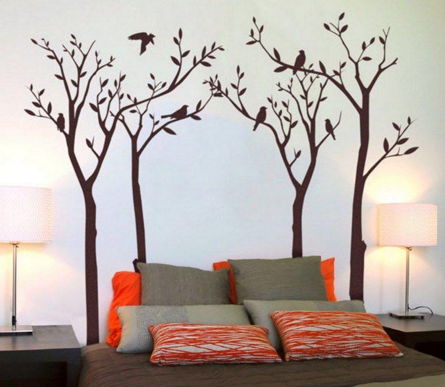 Dibujos modernos dormitorios siluetas obscuras - Decoracion dormitorios juveniles pintura ...