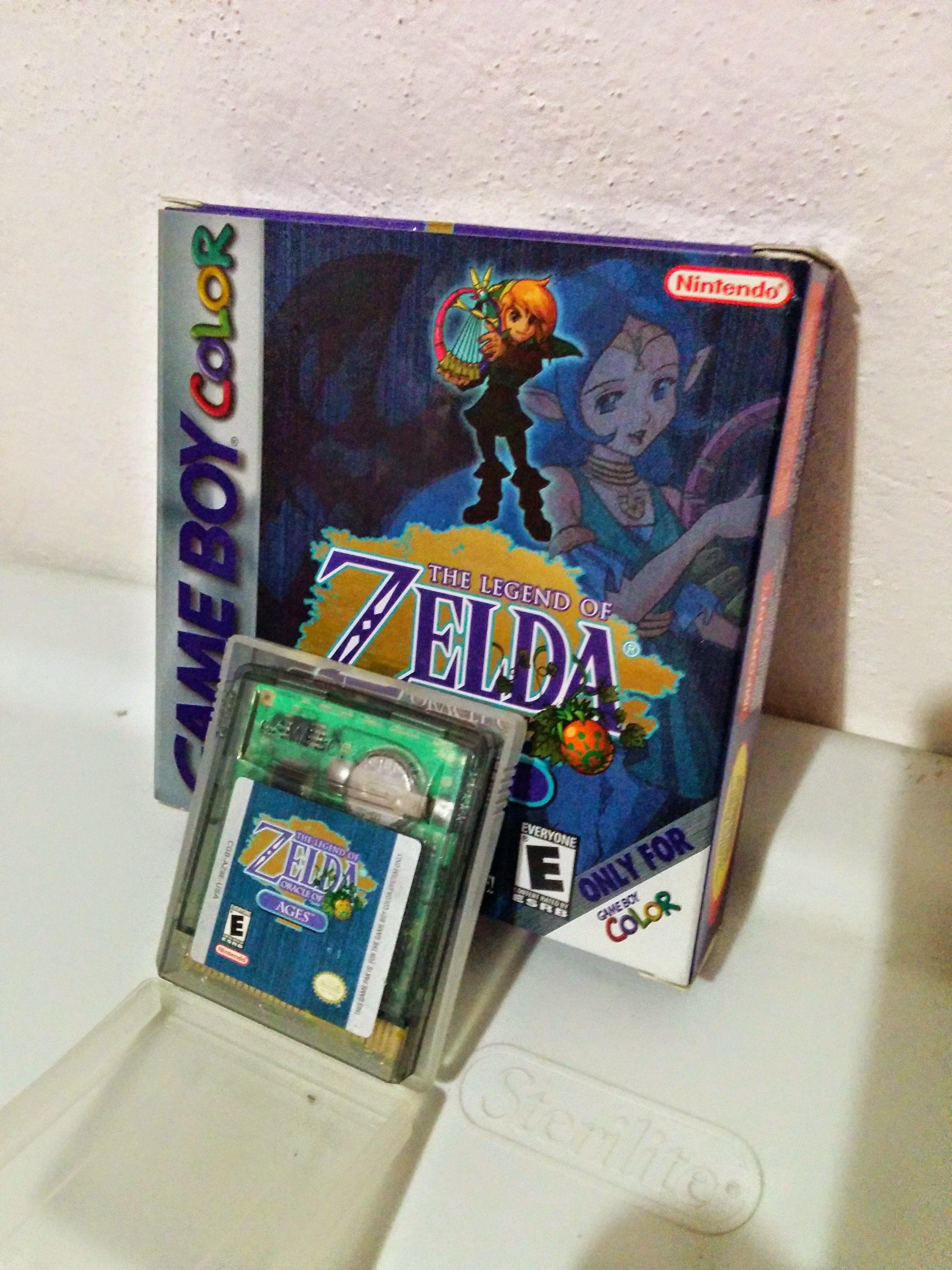 Game boy color legend of zelda - Game Boy Color The Legend Of Zelda Oracle Of Ages
