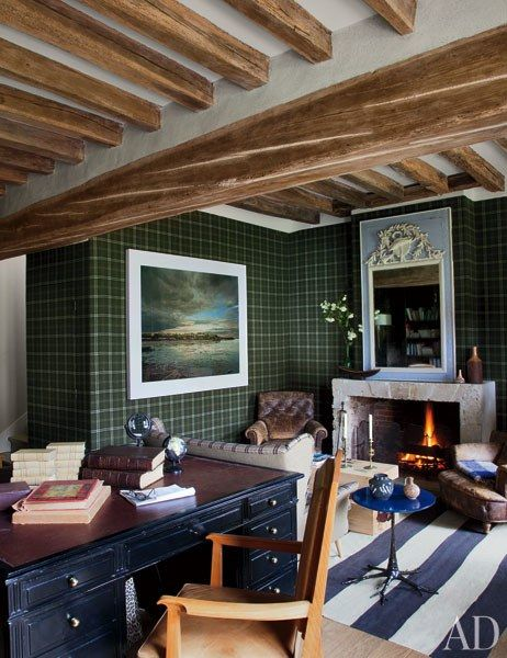 Jean-Louis Deniot Designs a Rustic Yet Sophisticated Farmhouse in ...