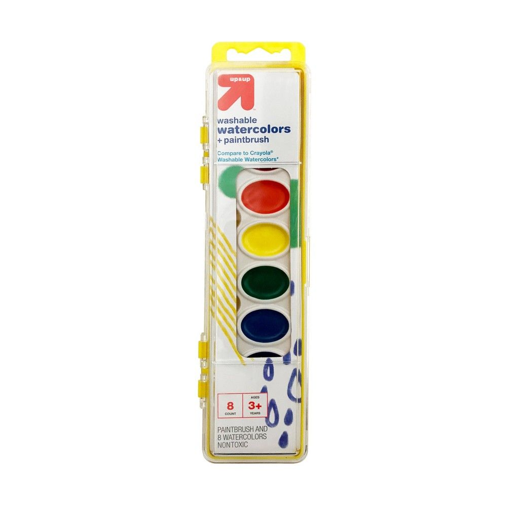 Crayola Watercolor Paints With Brush 16ct Watercolor Kit Color
