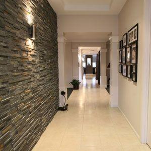 Couloir - Fausses pierres   Couloir   Pinterest   Couloir, Fausse ...
