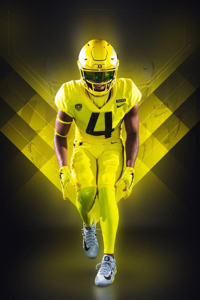 Ducks to wear yellow uniforms against washington college