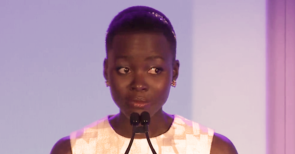 Oscar Winner Lupita Nyong'o's Speech On Beauty That Left An Entire Audience Speechless