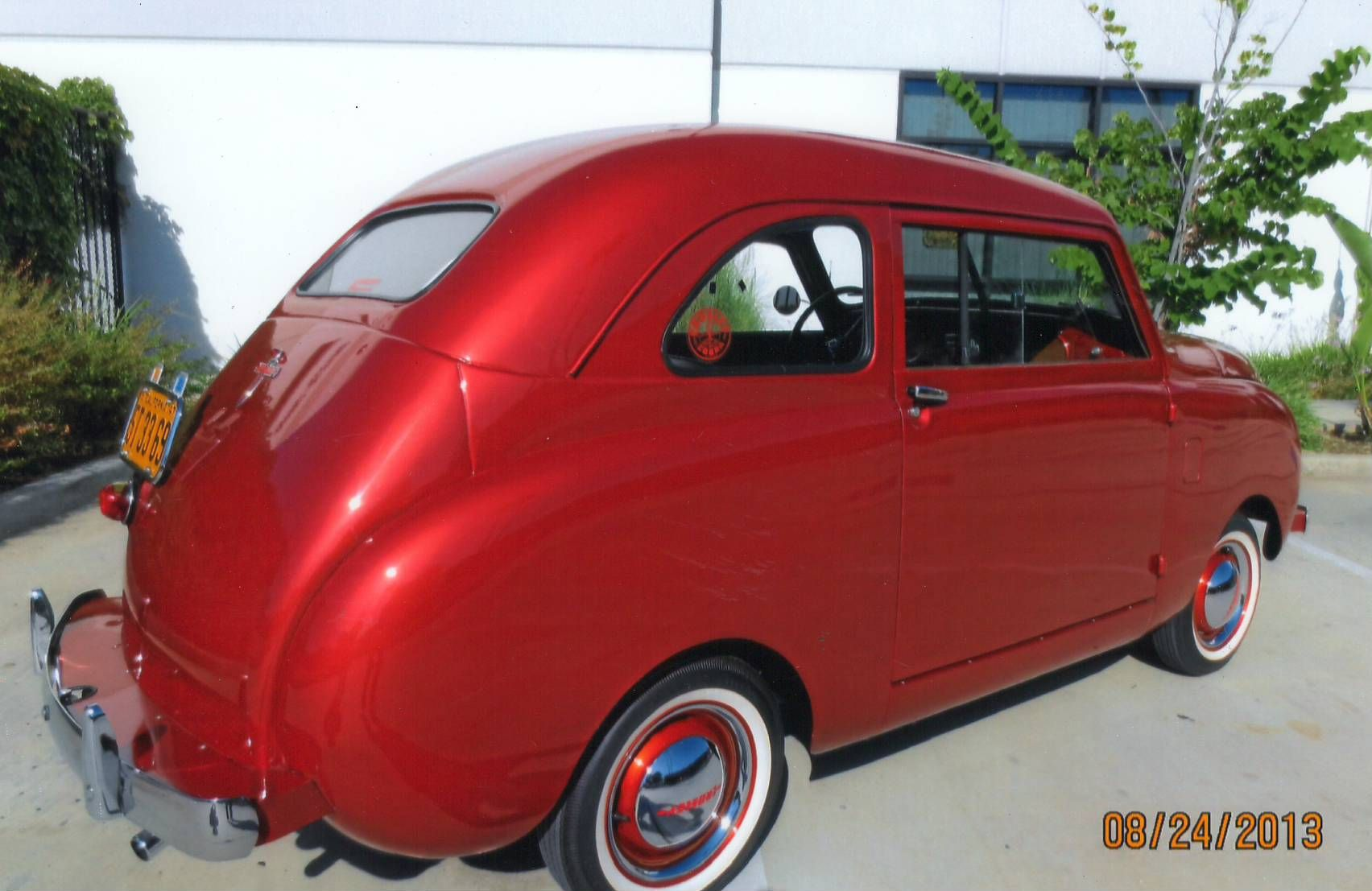 1947 Crosley. I love this red Car auctions, Classic cars