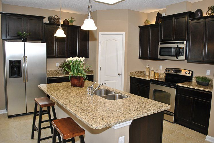 The kitchen featured inside lennar 39 s charle lennar homes for Brookwood home builders