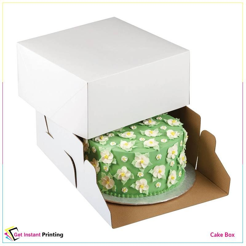 The cake box can be a vital part of the baking project