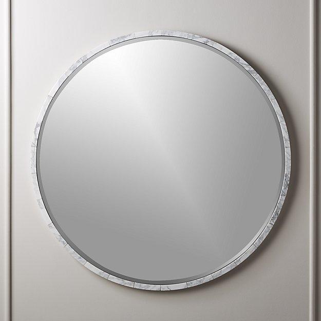 White Marble Wall Mirror 36 Reviews Modern Mirror Wall Mirror Wall Marble Wall