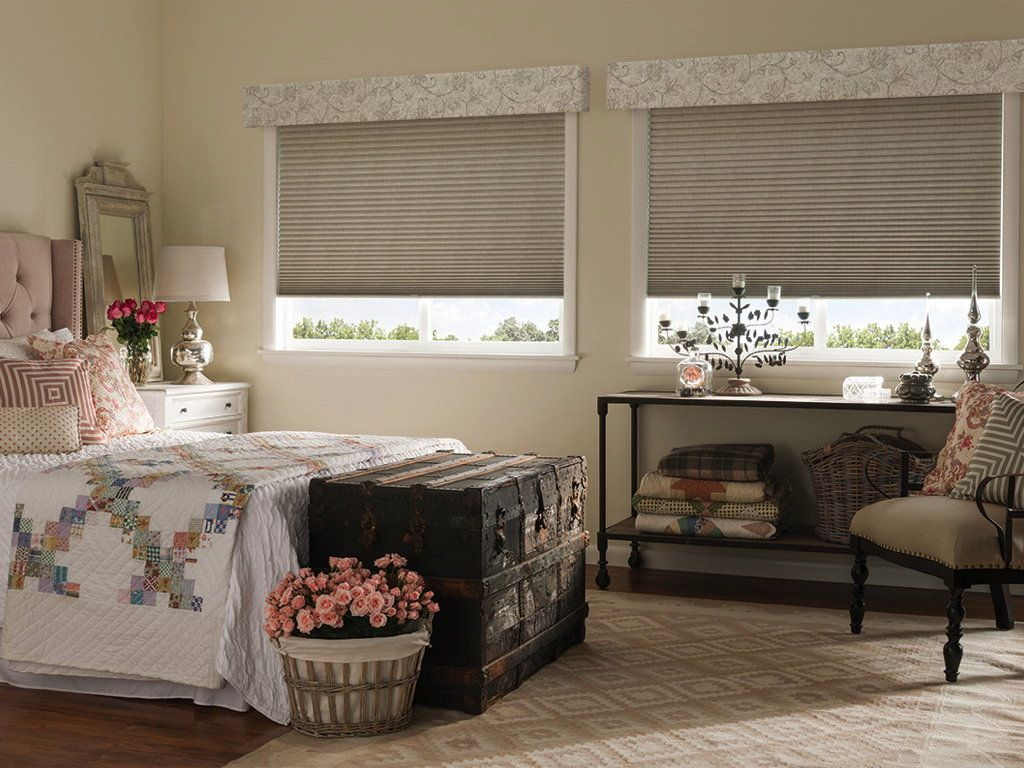 Curtains blackout honeycomb shades blackout shades blinds blinds and - Highlights Cornice Valance On Cellular Shades