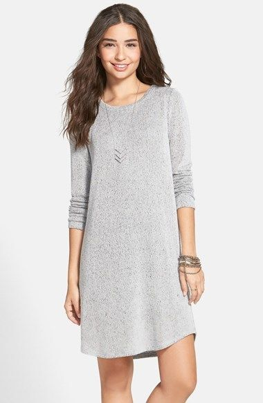 Everly Jersey Knit Sweater Dress Juniors Sweater Dresses
