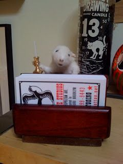 Taxidermy business card holder by amber jolliffe for jeb maykut at taxidermy business card holder by amber jolliffe for jeb maykut at flyrite tattoo in williamsburg colourmoves