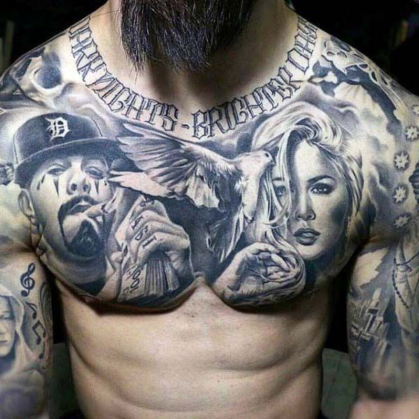 Ultimate List Of Tattoo Ideas Inspiration For 2020 Tattoo Designs Chest Piece Tattoos Picture Tattoos Chest Tattoo Men