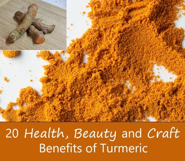 20 Health, Beauty and Craft Benefits of Turmeric | MEDICINE | Pinterest |  Turmeric, Benefit and Remedies