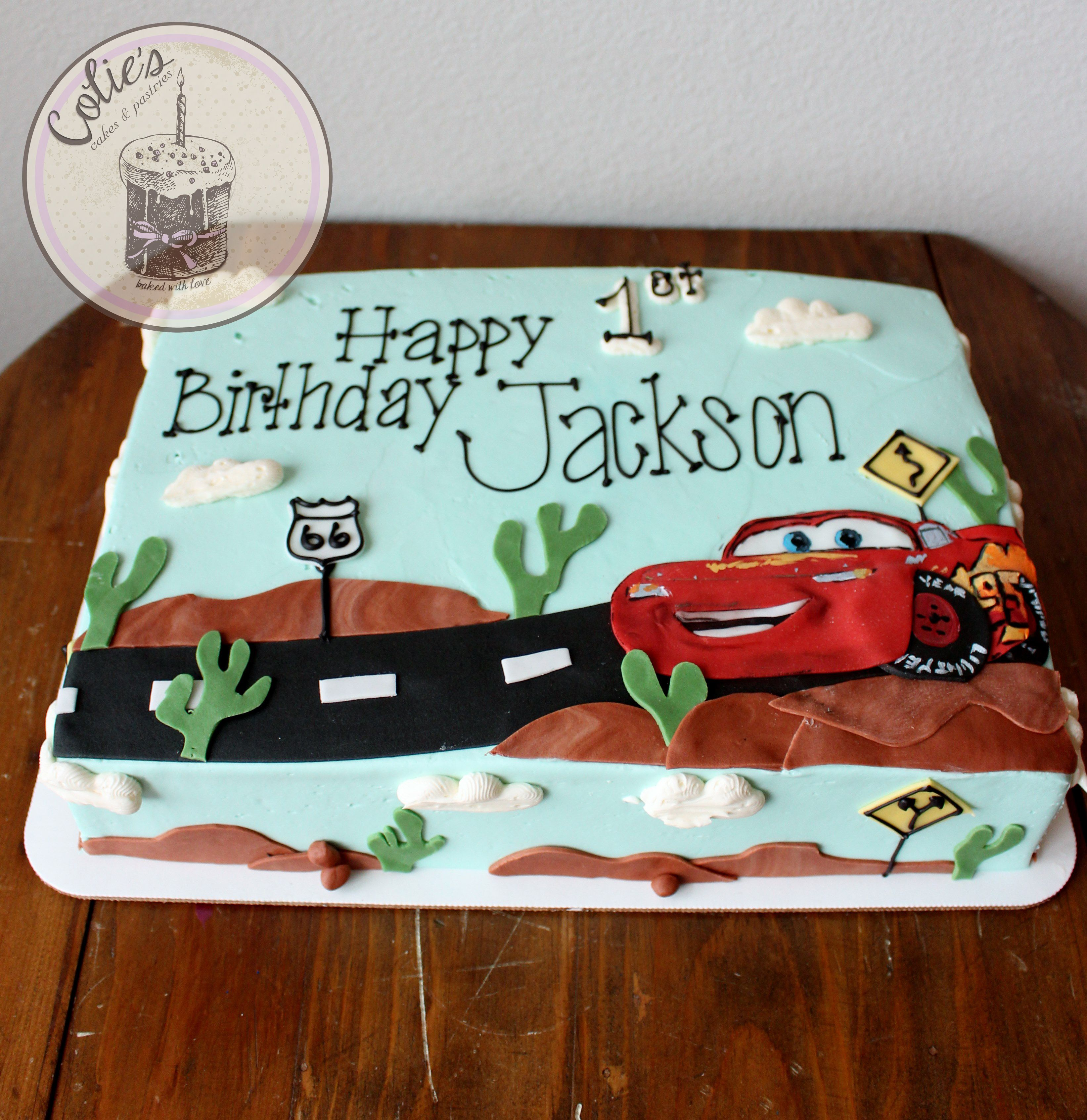 Cars Birthday Cake Disney Cars Cake Lightening Mcqueen Fondant