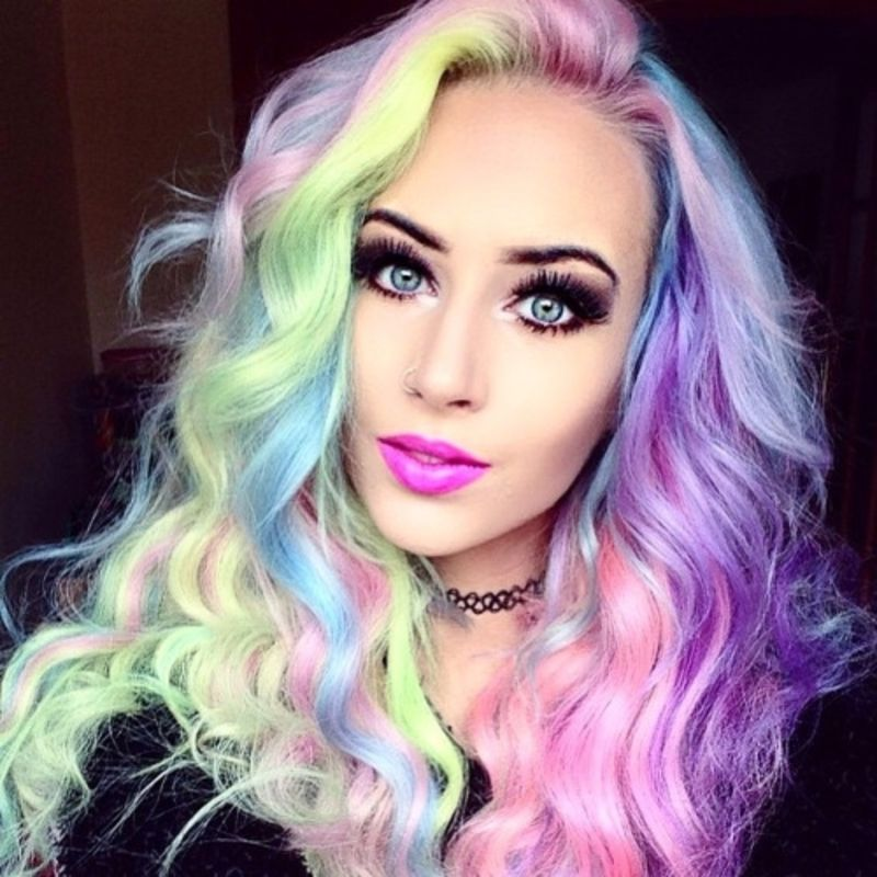 9 Temporary Ways To Color Your Hair Hair Pinterest Dye