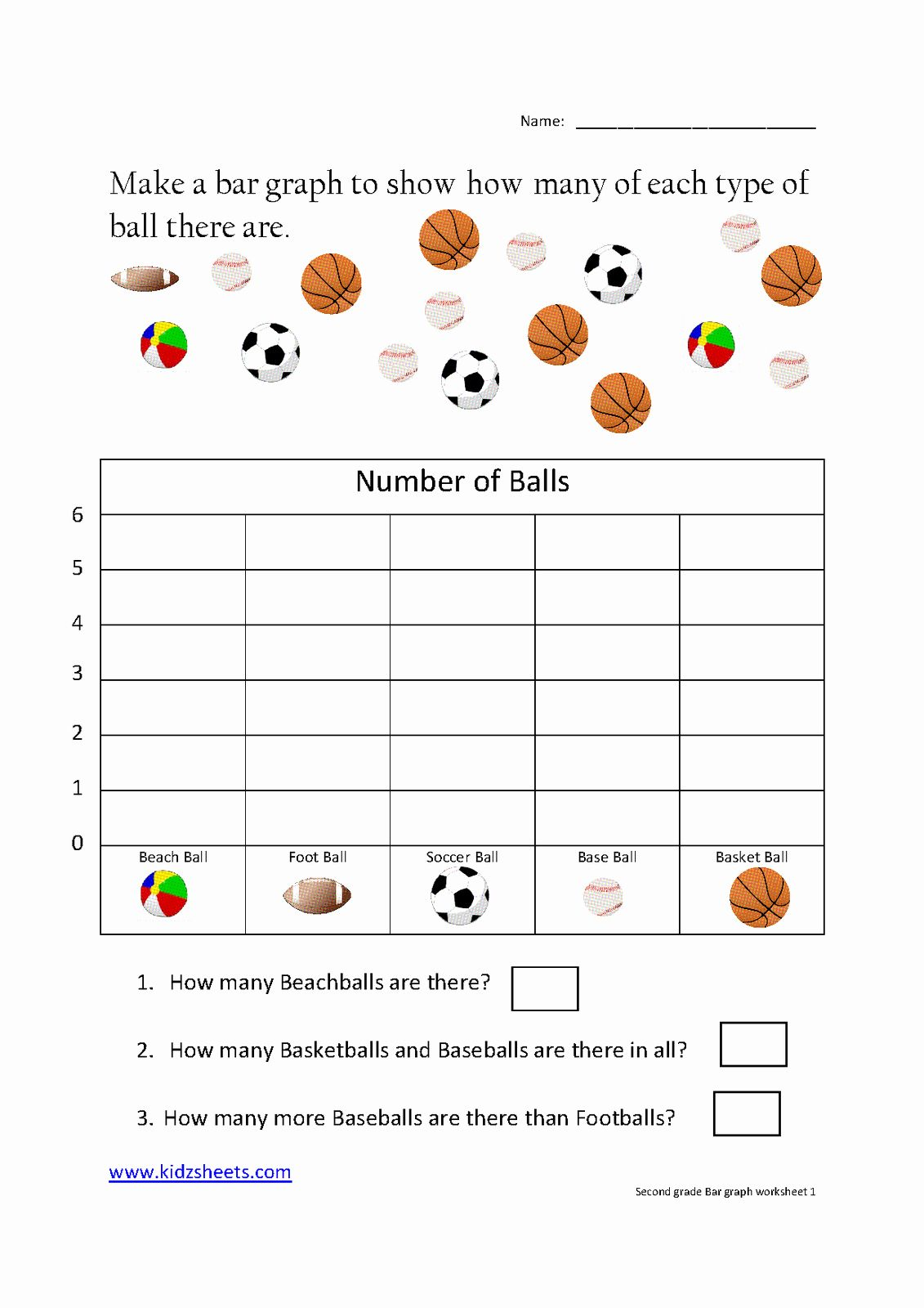Free Bar Graph Worksheets Unique Kidz Worksheets Second