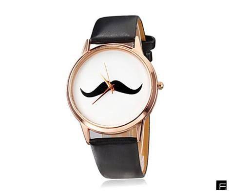 moustache watch!