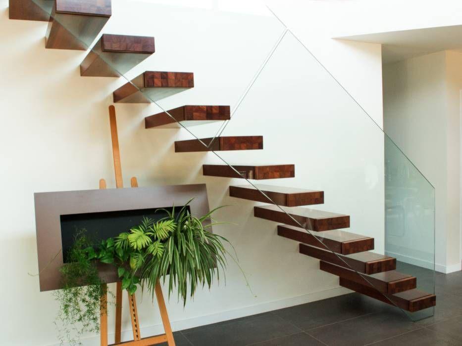 Extrêmement Les 25 meilleures idées de la catégorie Escalier flottant sur  SM62