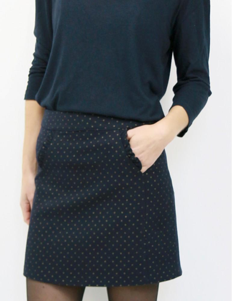 Jupe femme Novembre patron de couture pochette avec vidéo gratuite